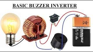 Maak DC / AC-Convertor    Simpele Buzzer-Omvormer DIY