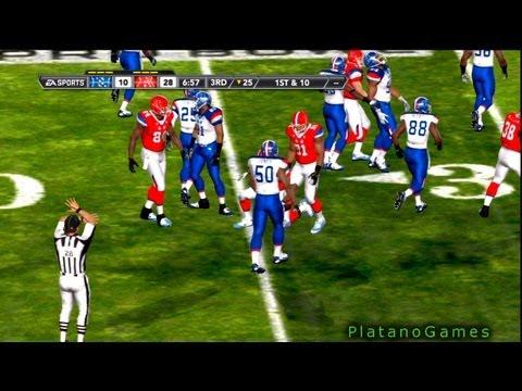 NFL Pro Bowl 2013 - AFC Conference vs NFC Conference - 4th Qrt - Madden NFL - HD