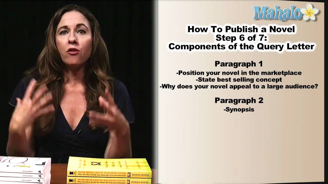 How To Publish A Novel: Step 6, Query Letter Format - Youtube
