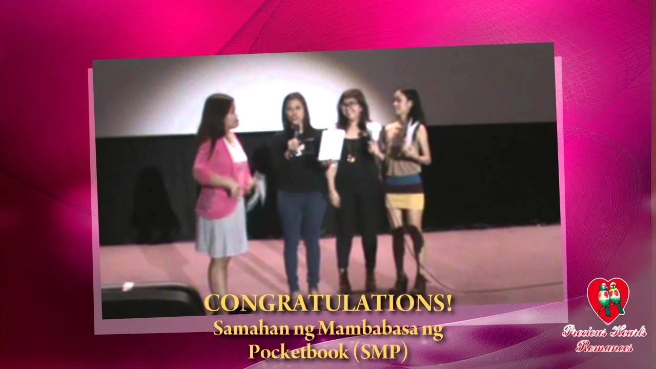 Congratulations SMP - SAMAHAN NG MAMBABASA NG POCKETBOOK