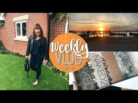 WEEKLY VLOG #114 | BEACH BANK HOLIDAY ♡ | Brogan Tate