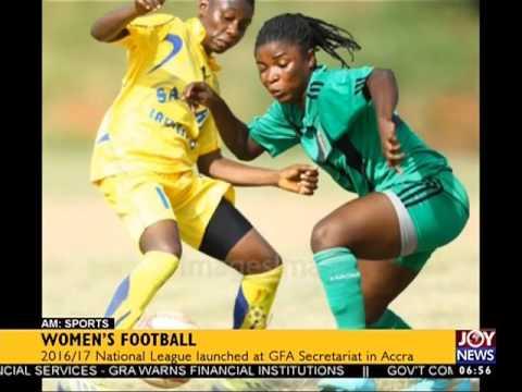 Women's Football - AM Sports on Joy News (20-4-17)