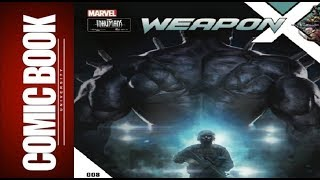Weapon x #8 | comic book university