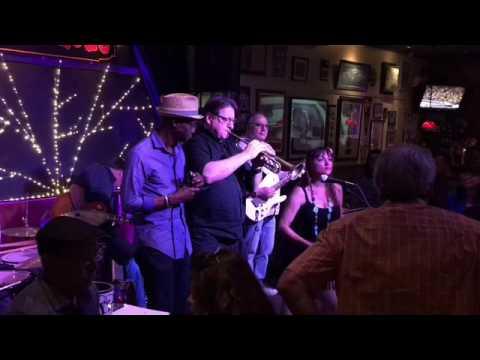 Gina at Little Lou's Thursday Blues Jam