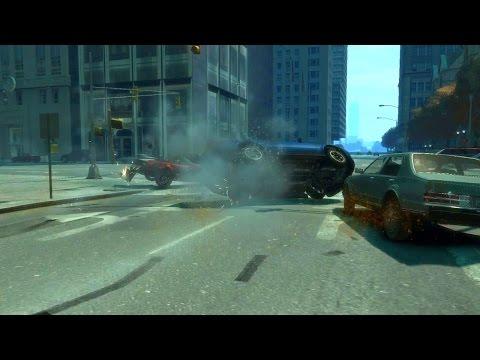 GTA IV Movies - Crash (Аварии) II