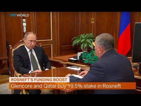 Money Talks: Glencore and Qatar buying stake in Rosneft