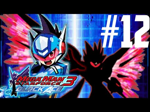 Mega Man Star Force 3: Black Ace Part 12 - Vs. Diamond Ice [HD]