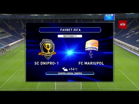 Dnipro-1 Mariupol Goals And Highlights