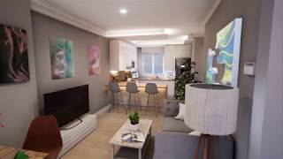 Unreal Engine 4 Archviz Arquitectura reforma vivienda Melquiades