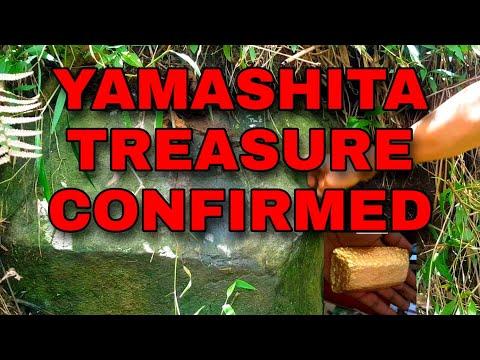 YAMASHITA TREASURE CONFIRMED