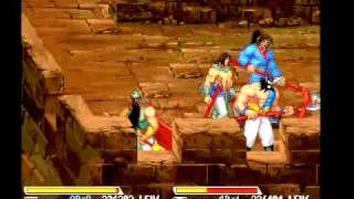 Knights of Valour (PGM) playthrough IGS 4-players arcade game -Not MAME- thumbnail