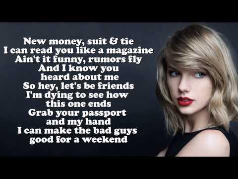 Taylor Swift Song Blank Space Lyrics