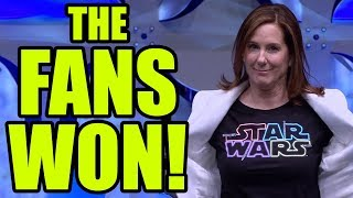 THE FANS WON! Lucasfilm has been defeated!