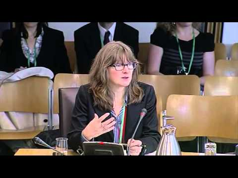 Welfare Reform Committee - Scottish Parliament: 13th November 2012