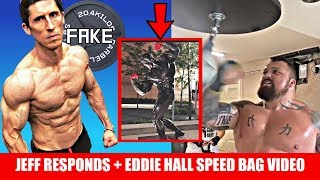 Jeff Cavaliere Responds! + Arnold's Statue Vandalized + Eddie Hall Speed Bag Video