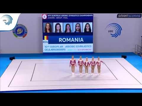 Romania - 2017 Aerobics European Champions, junior groups