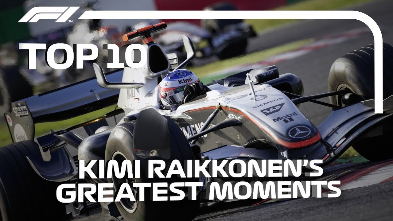 Top 10 Kimi Raikkonen F1 Moments
