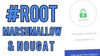 Hindi | how to root android 6.0 marshmallow & 7.0 nougat | fully explained