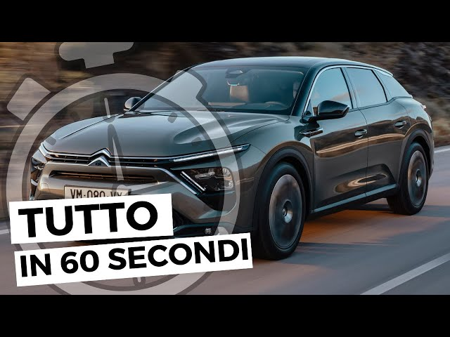CITROËN C5 X 2021| Tutto in 60 secondi