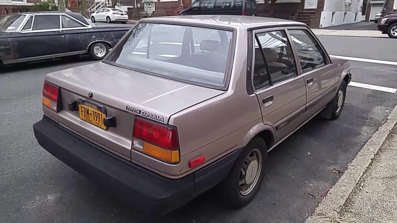 1985 Toyota Corolla Youtube