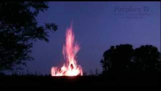 Fireplace IV - Native American Flute - Drums - Music & Relaxing Fire Sound