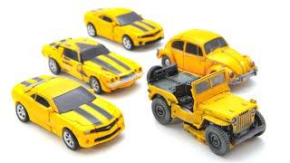 Transformers Movie Studio Series Jeep Beetle Camaro Bumblebee 5 Car Robot Toys