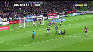 Melbourne Victory vs Newcastle Jets (Melbourne highlights)