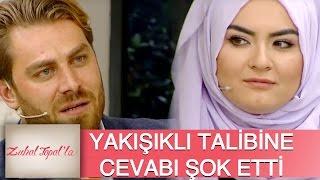 Zuhal Topal'la 87. Bölüm (HD) | Hanife Yakışıklı Talibi Okhan'a Öyle Bir Cevap Verdi Ki