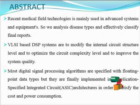 A Simple FPGA System for ECG R-R Interval Detection | Final Year Projects  2016 - 2017