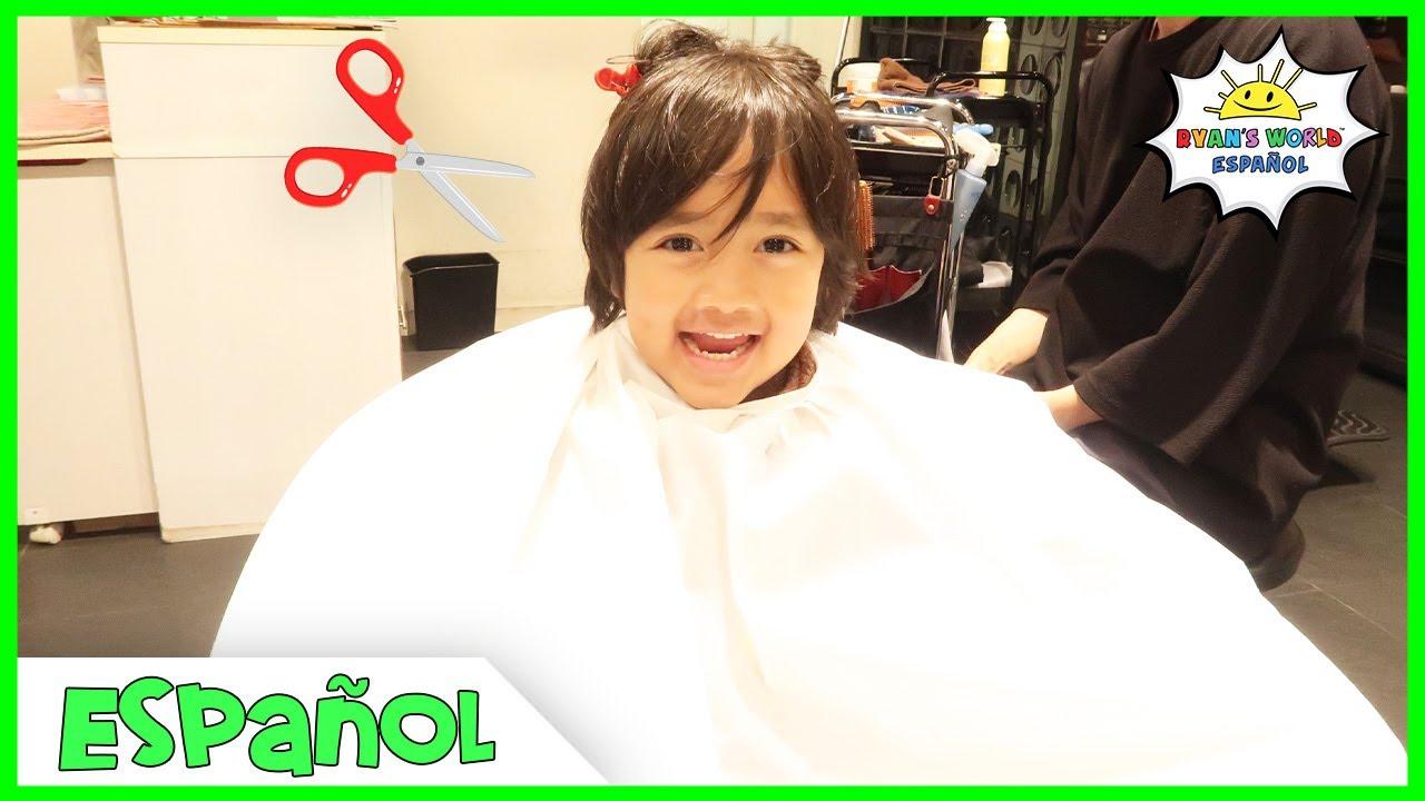 Primer corte de pelo de Ryan en Japón + Más actividades divertidas para la familia