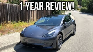 Tesla Model 3 Review – 1 Year Later – Would I Buy Again?