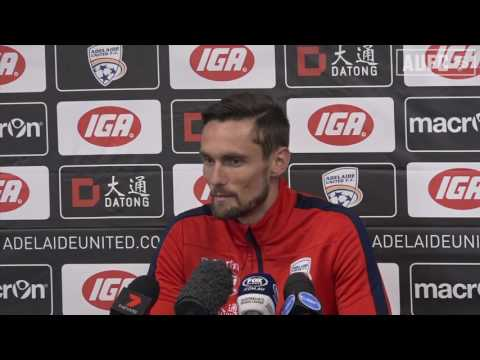 James Holland's First Press Conference