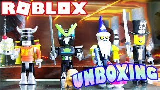 Roblox Toy unboxing-robot Riot Mix e Match set da série de ação 3