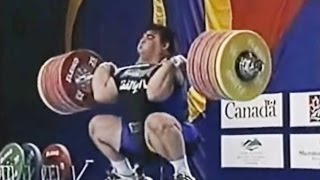 2003 World Weightlifting Championships, Men +105 kg \ Тяжелая Атлетика. Чемпионат Мира