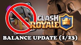 Elite Barbarian NERF! | Balance Update (1/23) | EBarb World Record?
