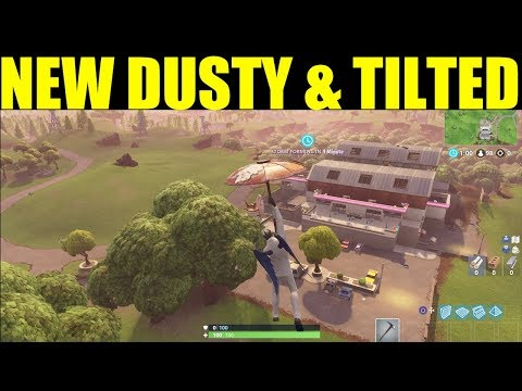Season 5 Map Changes Week 9 NEW DUSTY DIVOT & TILTED TOWERS