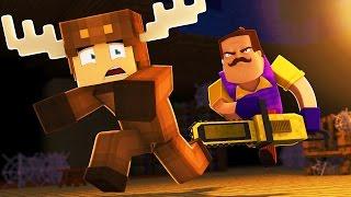 Minecraft - HELLO NEIGHBOR - SECRET ATTIC!