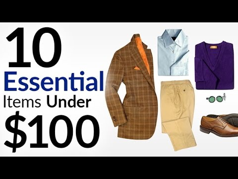 10 Menswear Essentials Under $100 | Best Budget Brands | Affordable Mens Fashion Items