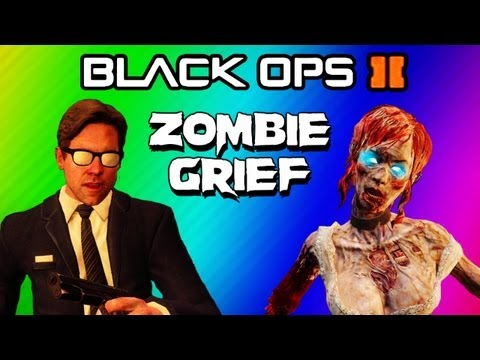 Thumbnail: Black Ops 2 Zombies Strategy FAIL! - Buried 2v2 Grief Starting at Round 20 (Funny Moments)