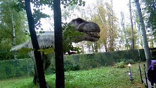 Ужасы в Парке Динозавров