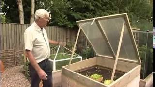 Wooden Cold Frame - Allotment And Raised Bed Frost Protection