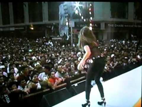 LISA LOPEZ,EN EL FIESTON DE NEWYOK 1992