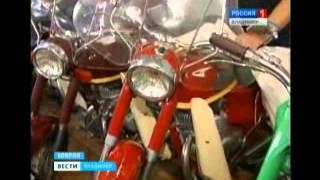 видео Первый музей мотоциклов в Коврове
