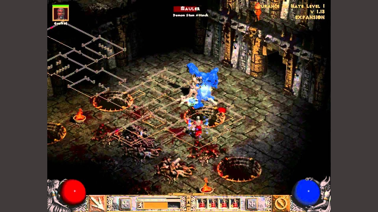 Let's Play - Diablo 2 - LOD - Episode 64 - Durance of Hate - YouTube