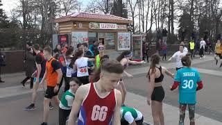 1 этап - сильнейший забег школьников 75-ой областной легкоатлетической эстафеты 2018