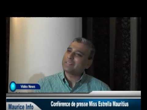 Conférence de presse Miss Estrella Mauritius - Part 2