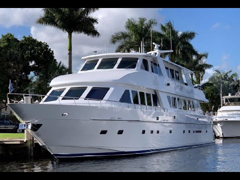 2001 HARGRAVE 109 Motor Yacht - Boats For Sale In Florida
