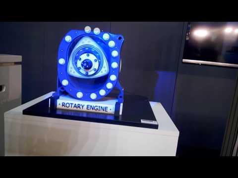 Rotary Wankel engine