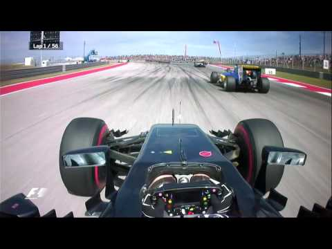 Jenson Button's Amazing First Lap in Austin | F1 is...Being Bold