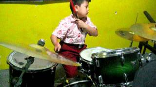 FARO Ayo Indonesia Bisa...Theme Song Sea Games 2011 drum cover.AVI